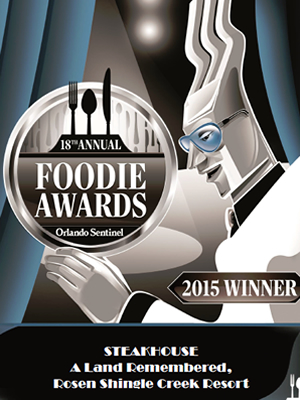 2015 Foodie Awards Winner